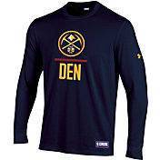 Under Armour Men's Denver Nuggets Lockup Long Sleeve Shirt