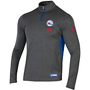 Under Armour Men's Philadelphia 76ers Quarter-Zip Pullover