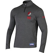 Under Armour Men's Portland Trail Blazers Quarter-Zip Pullover