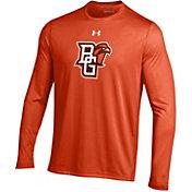 Under Armour Men's Bowling Green Falcons Orange Long Sleeve Tech Performance T-Shirt