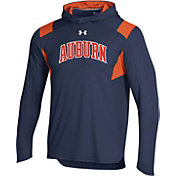Under Armour Men's Auburn Tigers Blue Long Sleeve Shooter T-Shirt