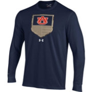 Under Armour Men's Auburn Tigers Blue Military Appreciation Long Sleeve T-Shirt
