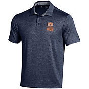 Under Armour Men's Auburn Tigers Blue Playoff Performance Polo