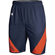 Under Armour Men's Auburn Tigers Blue Replica Basketball Shorts