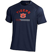 Under Armour Men's Auburn Tigers Blue Tech Performance T-Shirt