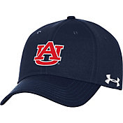 Under Armour Men's Auburn Tigers Blue Threadborne Closer Fitted Hat