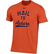 Under Armour Men's Auburn Tigers Orange Charged Cotton Performance T-Shirt