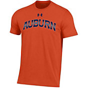 Under Armour Men's Auburn Tigers Orange Performance Cotton T-Shirt