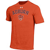 Under Armour Men's Auburn Tigers Orange Tri-Blend Short Sleeve T-Shirt