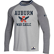Under Armour Men's Auburn Tigers White/Grey Lifestyle Long Sleeve T-Shirt