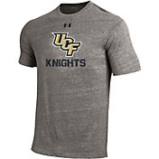 Under Armour Men's UCF Knights Grey Tri Blend Short Sleeve T-Shirt
