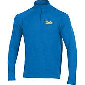 Under Armour Men's UCLA Bruins True Blue Charged Cotton Quarter-Zip Shirt