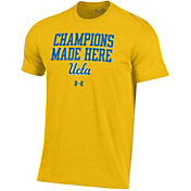 Under Armour Men's UCLA Bruins Gold Charged Cotton Performance T-Shirt