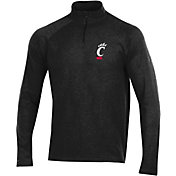 Under Armour Men's Cincinnati Bearcats Charged Cotton Quarter-Zip Black Shirt