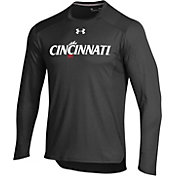 Under Armour Men's Cincinnati Bearcats Long Sleeve Shooter Black T-Shirt