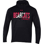 Under Armour Men's Cincinnati Bearcats Fleece Pullover Black Hoodie