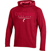 Under Armour Men's Cincinnati Bearcats Red MK1 Popover Performance Hoodie
