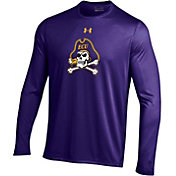 Under Armour Men's East Carolina Pirates Purple Long Sleeve Tech Performance T-Shirt