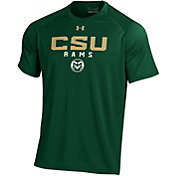 Under Armour Men's Colorado State Rams Green Tech Performance T-Shirt