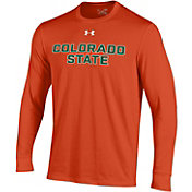 Under Armour Men's Colorado State Rams Orange Charged Cotton Long Sleeve T-Shirt