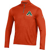 Under Armour Men's Colorado State Rams Orange Threadborne Quarter-Zip Performance Fleece