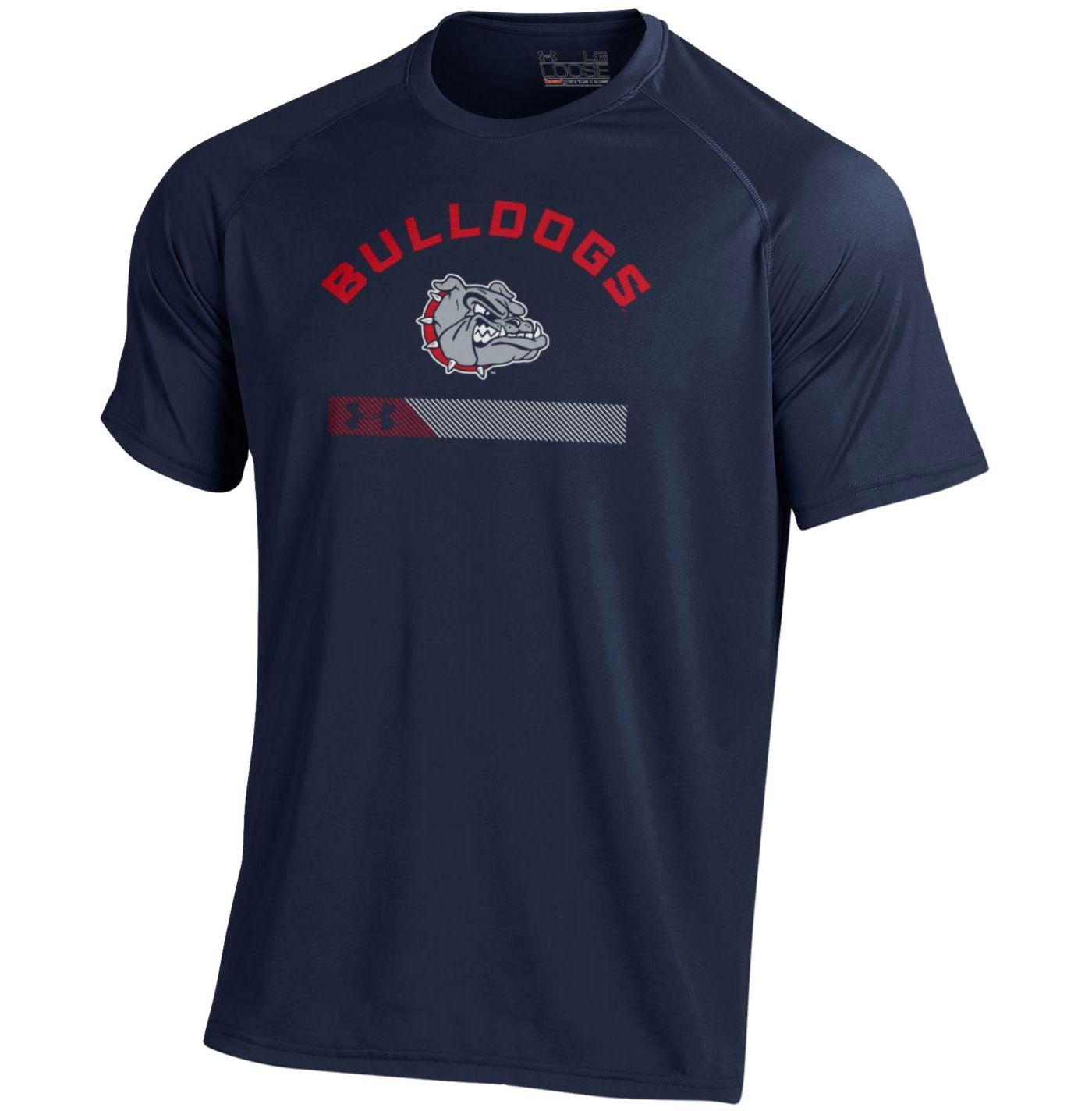 Under Armour Men's Gonzaga Bulldogs Blue Tech Performance T-Shirt