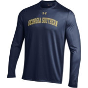 Under Armour Men's Georgia Southern Eagles Navy Long Sleeve Tech Performance T-Shirt