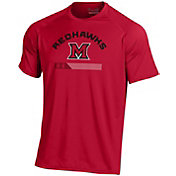 Under Armour Men's Miami RedHawks Red Tech Performance T-Shirt