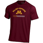 Under Armour Men's Minnesota Golden Gophers Maroon Tech Performance T-Shirt
