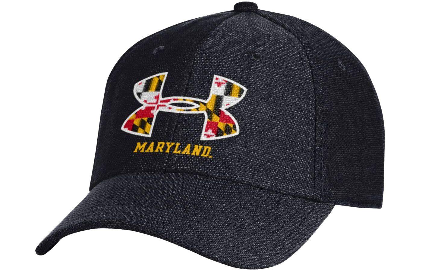 Under Armour Men's Maryland Terrapins 'Maryland Pride' Black Hat
