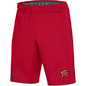 Under Armour Men's Maryland Terrapins Red MK1 Shorts