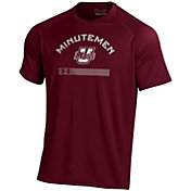 Under Armour Men's UMass Minutemen Maroon Tech Performance T-Shirt