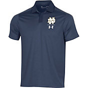 Under Armour Men's Notre Dame Fighting Irish Navy Pinnacle Performance Polo