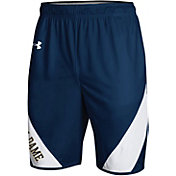 Under Armour Men's Notre Dame Fighting Irish Navy Replica Basketball Shorts