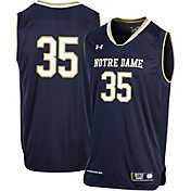 Under Armour Men's Notre Dame Fighting Irish #35 Navy Replica Basketball Jersey