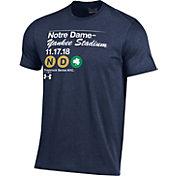 Under Armour Men's Notre Dame Fighting Irish Navy 2018 Shamrock Series Football T-Shirt