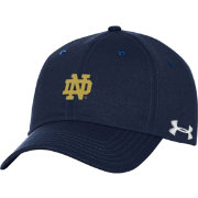 Under Armour Men's Notre Dame Fighting Irish Navy Threadborne Closer Fitted Hat