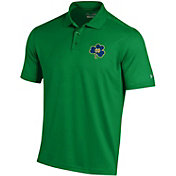 Under Armour Men's Notre Dame Fighting Irish Green 'Wear Green' Performance Polo