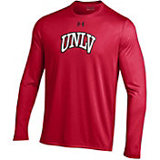 Under Armour Men's UNLV Rebels Scarlet Long Sleeve Tech Performance T-Shirt