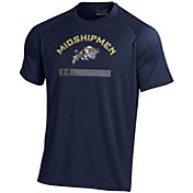 Under Armour Men's Navy Midshipmen Navy Tech Performance T-Shirt