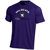 Under Armour Men's Northwestern Wildcats Purple Tech Performance T-Shirt