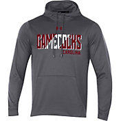 Under Armour Men's South Carolina Gamecocks Grey Fleece Pullover Hoodie