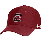 Under Armour Men's South Carolina Gamecocks Garnet Blitzing Adjustable Hat