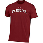 Under Armour Men's South Carolina Gamecocks Garnet Performance Cotton T-Shirt