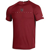 Under Armour Men's South Carolina Gamecocks Garnet Training Performance T-Shirt
