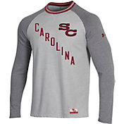 Under Armour Men's South Carolina Gamecocks White/Grey Lifestyle Long Sleeve T-Shirt