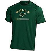 Under Armour Men's South Florida Bulls Green Tech Performance T-Shirt