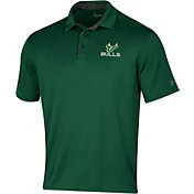 Under Armour Men's South Florida Bulls Green Tech Polo