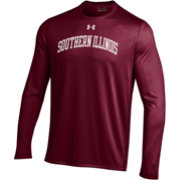 Under Armour Men's Southern Illinois  Salukis Maroon Long Sleeve Tech Performance T-Shirt