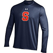 Under Armour Men's Syracuse Orange Blue Long Sleeve Tech Performance T-Shirt
